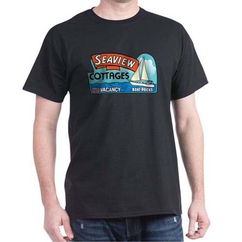 Seaview Cottages, Santa Monica, California T-Shirt