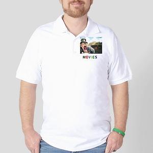 MOVIES STARRING TEETHER. Golf Shirt