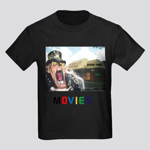 MOVIES STARRING TEETHER. Kids Dark T-Shirt