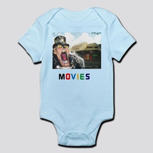 MOVIES STARRING TEETHER. Infant Bodysuit