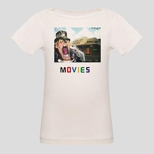MOVIES STARRING TEETHER. Organic Baby T-Shirt
