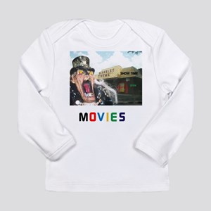 MOVIES STARRING TEETHER Long Sleeve Infant T-Shirt