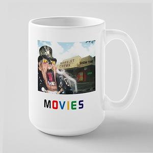 MOVIES STARRING TEETHER. Large Mug