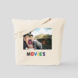 MOVIES STARRING TEETHER. Tote Bag