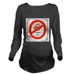 NoGunFreeze Long Sleeve Maternity T-Shirt