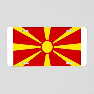 mk-flag Aluminum License Plate