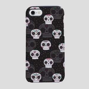 Skull Pattern iPhone 8/7 Tough Case