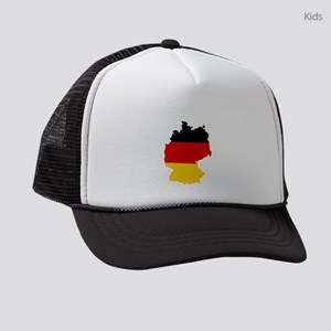 d-flag-shape Kids Trucker hat