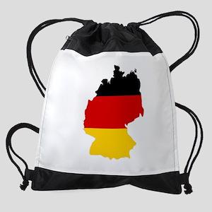 d-flag-shape Drawstring Bag
