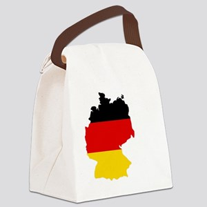 d-flag-shape Canvas Lunch Bag