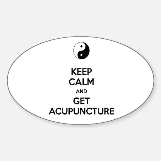 Cute Alternative medicine Sticker (Oval)