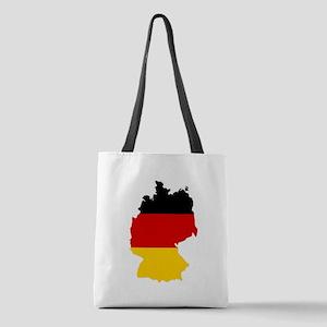 d-flag-shape Polyester Tote Bag