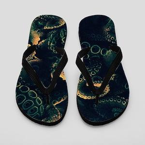 Tentacles Flip Flops