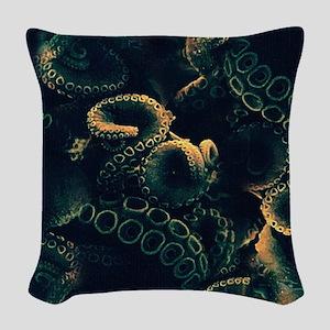 Tentacles Woven Throw Pillow