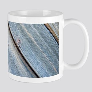 rustic primitive grey barn wood Mugs