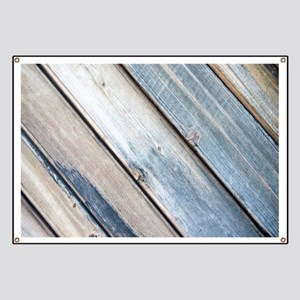 rustic primitive grey barn wood Banner