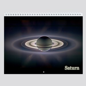 Monthly Wall Calendar Of The Planets