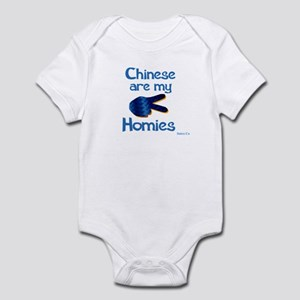 Chinese are my Homies Infant Bodysuit