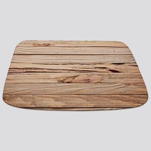 western country barn wood Bathmat