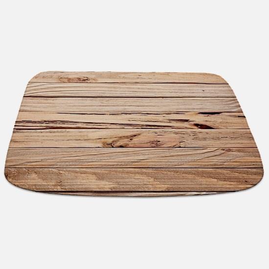 western country barn wood Bathmat