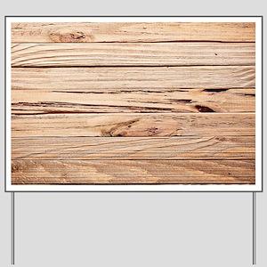 western country barn wood Yard Sign