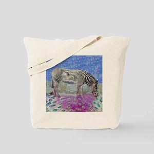 Dusty Zebra Dreams Tote Bag