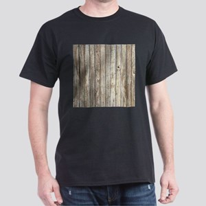 shabby chic white barn wood T-Shirt
