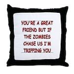 Great Friend1 Throw Pillow