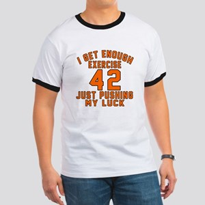 42 Birthday Designs Ringer T