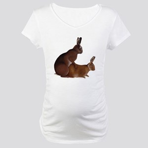 Bunny Love Maternity T-Shirt