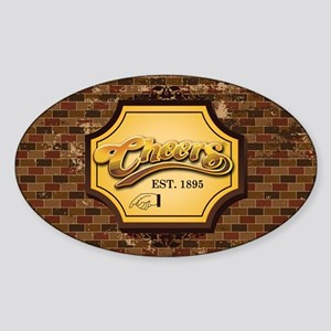 cheers Sticker (Oval)