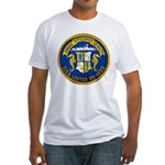 USS LESTER Fitted T-Shirt