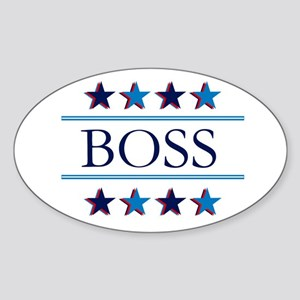 STAR BOSS Sticker