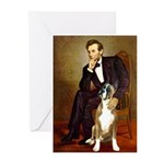 Lincoln & his Boxer Greeting Cards (Pk of 20)