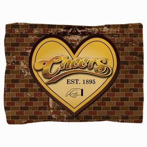 Cheers Heart Pillow Sham