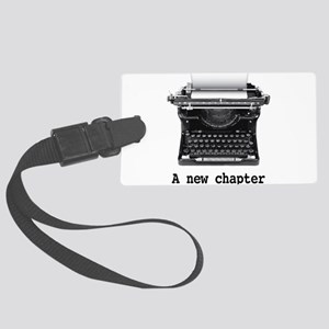 New chapter Large Luggage Tag