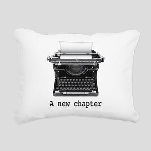 New chapter Rectangular Canvas Pillow