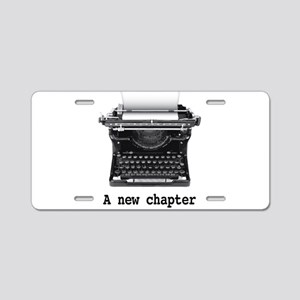 New chapter Aluminum License Plate