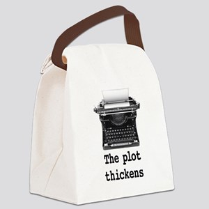 Plot thickens Canvas Lunch Bag