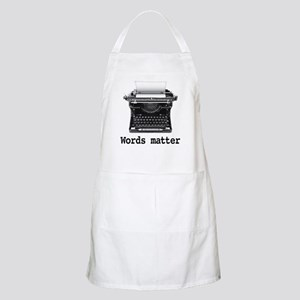 Words matter Apron