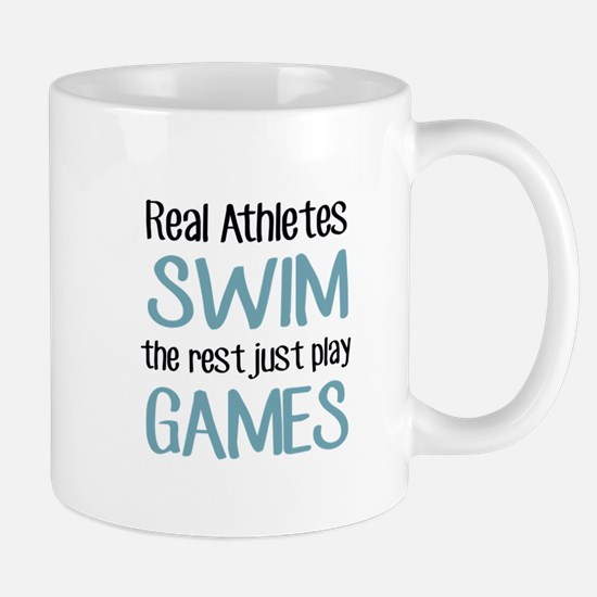 Real Athletes SWIM Mugs