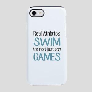 Real Athletes SWIM iPhone 8/7 Tough Case