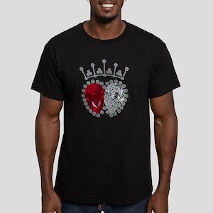 Spencer Engagement Rin Men's Fitted T-Shirt (dark)