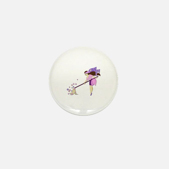 Fairy housekeeper Mini Button