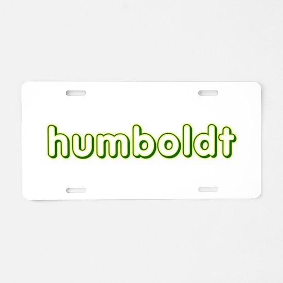 humboldt vagabond.png Aluminum License Plate