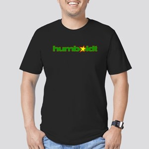 humboldt grunge star Men's Fitted T-Shirt (dar