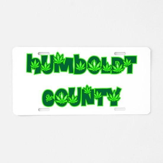 humboldt county potland.png Aluminum License Plate