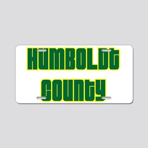 humboldt county Aluminum License Plate