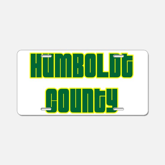humboldt county.png Aluminum License Plate