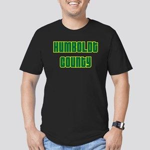 humboldt county Men's Fitted T-Shirt (dark)
